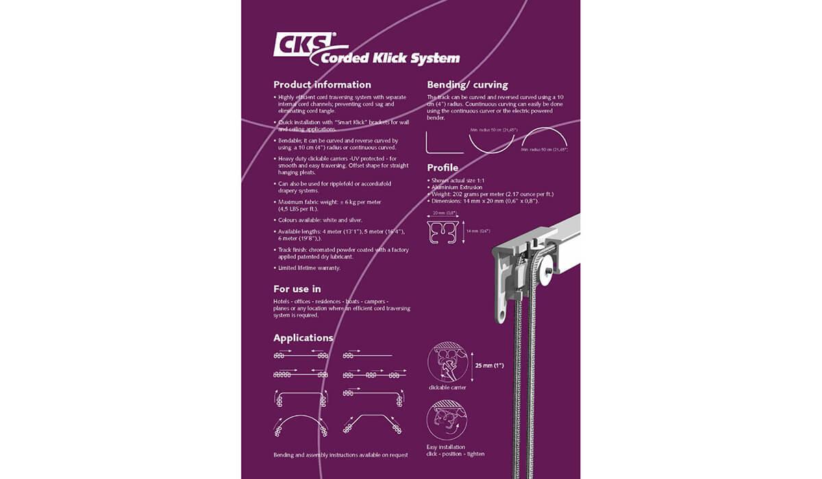 Forest CKS – Corded Klick System